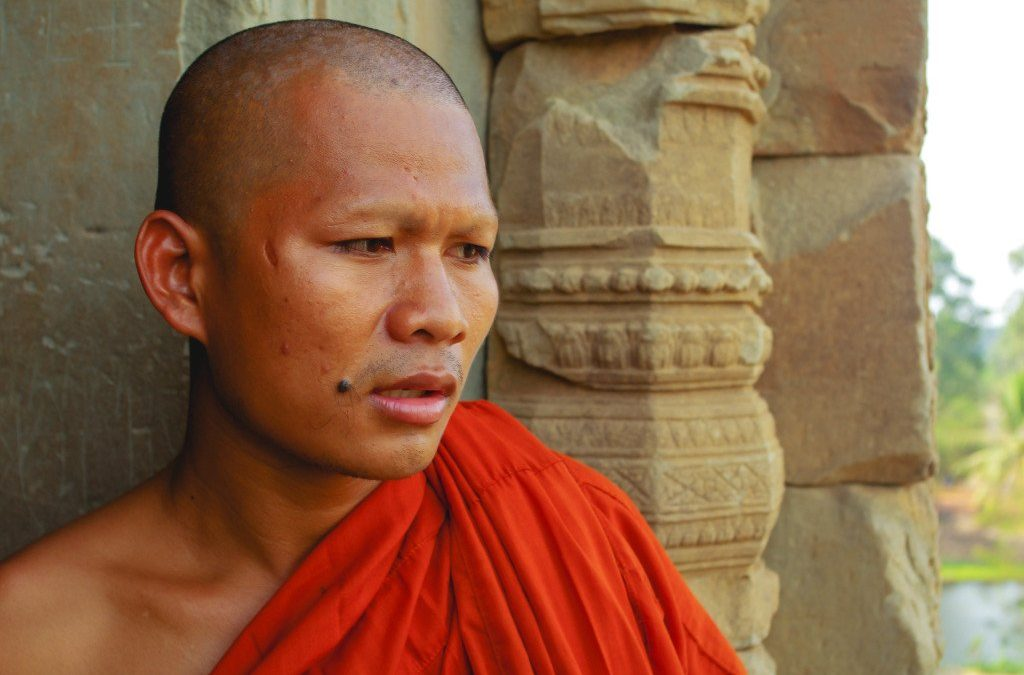 How I Convinced a Buddhist Monk to Abandon the Robes
