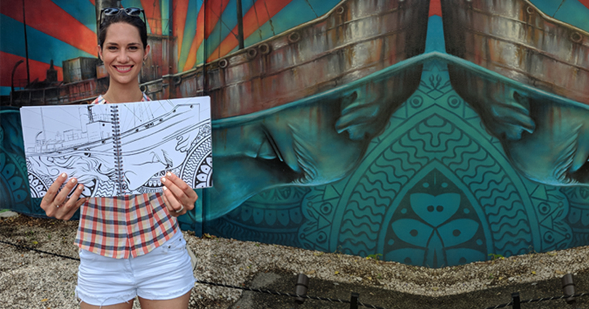 Channel Your Inner Artist with the Wynwood Coloring Book!