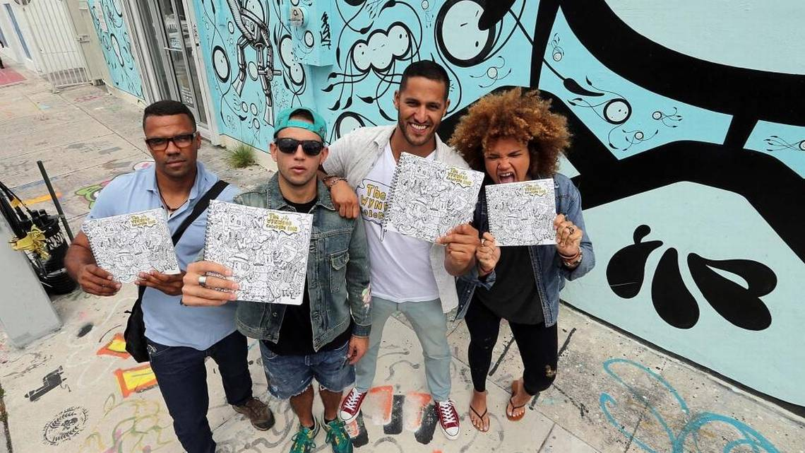 Not just for children: 'Wynwood Coloring Book' a hit with adults